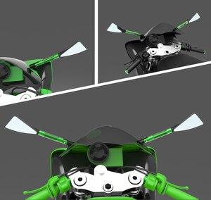 Image 5 - Chất Lượng Cao CNC Xe Máy Bên Phía Sau Gương Đa Năng Moto Xe Đạp Lưng MirrorFor Yamaha Mt03 MT 03 Yzf R25 YZF R3 yzf R3