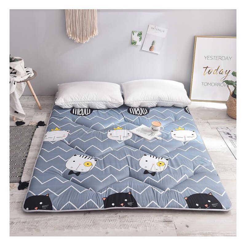 Спальная кровать коврик складной матрас нескользящий постельное белье  защита коврик отель мягкая удобная губка пол Подушка 223047f3609ca