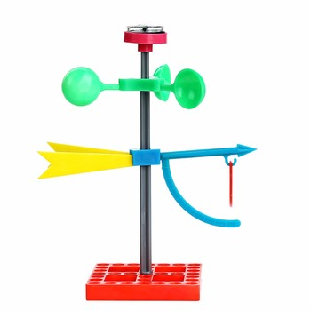1 Pc/Pack Fasinating Interesting DIY Wind Direction Vane for Children Physics & Mathematics Education image