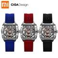 Новые для Xiaomi Mijia CIGA дизайн Z серии мужские Смарт-часы автоматические механические часы самоветер наручные часы smartwatch