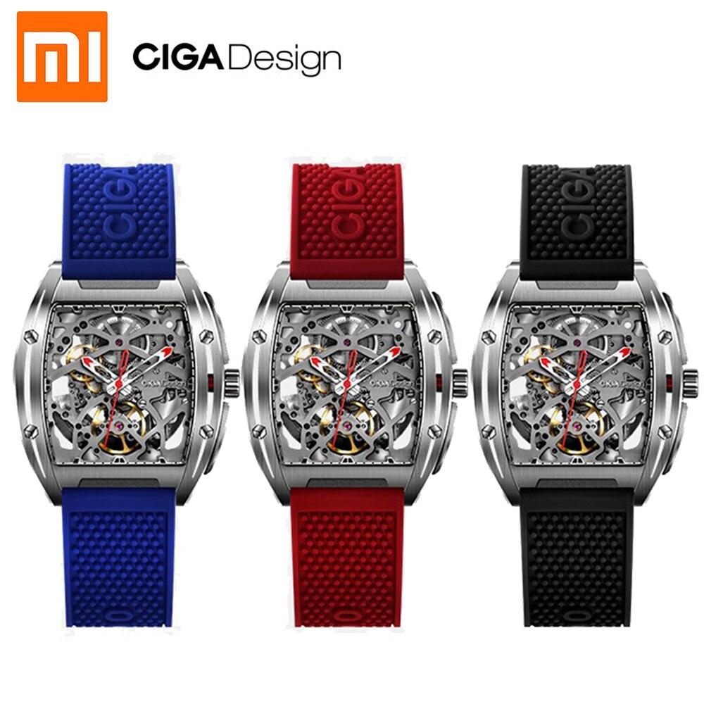 NOVO Para Xiaomi Mijia CIGA Projeto Z Series smart watch relógio dos homens Relógio Mecânico Automático Auto-vento Relógios de Pulso smartwatch