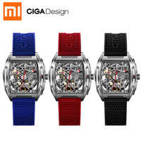 Nuevo para Xiaomi Mijia CIGA Design Z Series reloj inteligente para hombre reloj mecánico automático reloj de pulsera auto-Viento smartwatch
