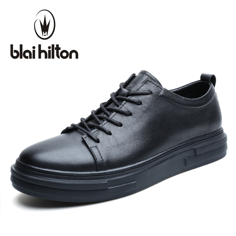 blaibilton Brand Thick Sole Men Shoes Casual Genuine Leather Luxury Fashion Designer Brand Male Shoes Breathable Footwear SD7132 blaibilton brand winter warm velvet high top men casual shoes luxury genuine leather male footwear fashion designer mens sd3599