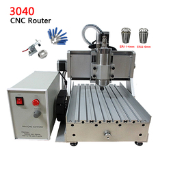 DIY mini CNC Router LY  3040Z-D500W 3axis USB Port Engraving Drilling and Milling Machine