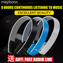 Mayboos Wireless Bluetooth Headphones Earphone NFC Headset Noice Canceling With Microphone for ios Android Smartphone Table PC