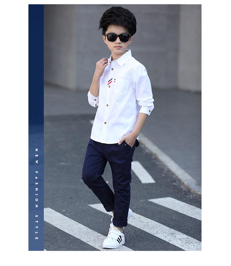 HTB1bVRWPpXXXXXrXFXXq6xXFXXXN - 2017 Boys Clothes New Spring Autumn Boys' Cotton Casual Shirts Kids Long Sleeve Shirt Boys Blouses Turn-Down Collar Shirt