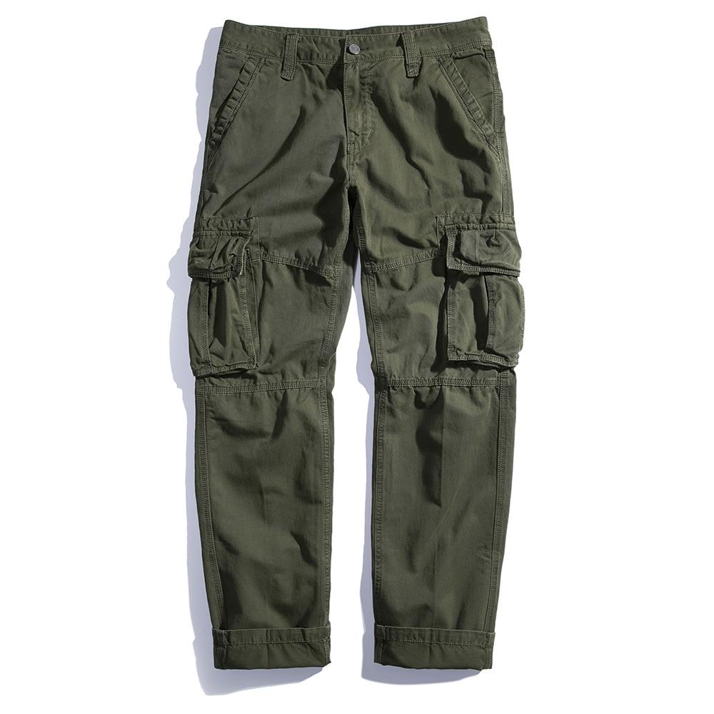 Hombres Algodón gris Larga Del Resorte Pantalones verde Llegada Recta Tactical Nueva Negro Militar Pantalon 636 azul Combate Homme d7wYaf7qWc