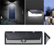 Waterproof 54 LED Solar Light Outdoor Garden Light PIR Motion Sensor Pathway Wall Lamp 3.7V цена в Москве и Питере