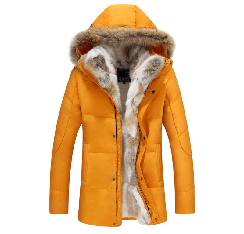 Women   Down   Jackets Fur Collar Thick Warm Windproof Russia Winter Jacket Women White Duck   Down     Coat   Female Overcoat -30 Degree
