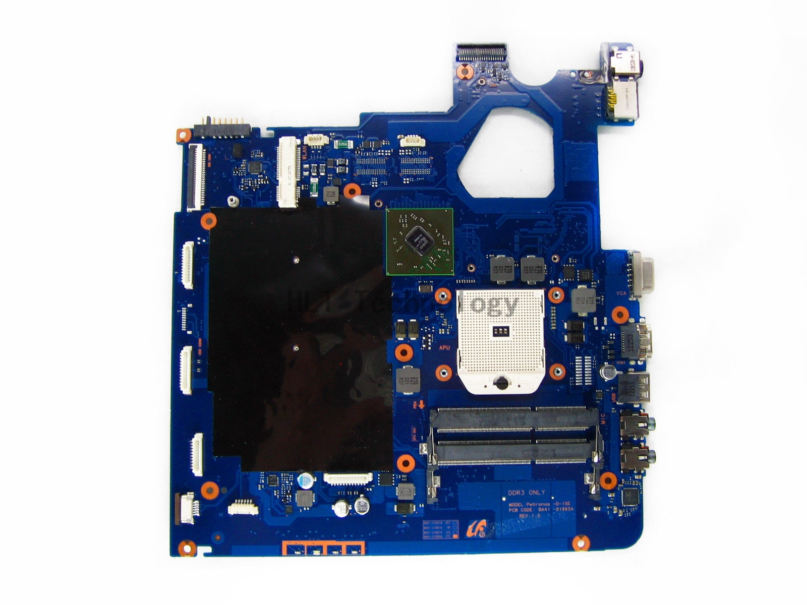 HOLYTIME Laptop Motherboard For SAMSUNG NP305V5A 305V5A BA92-08674A BA41-01681A HD7470M 512MB 100% fully tested