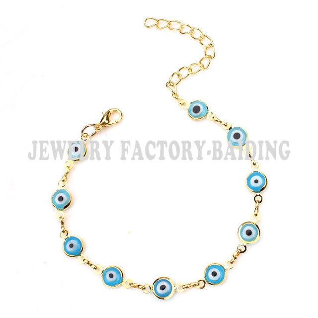 Gold Chain Blue/light Blue...