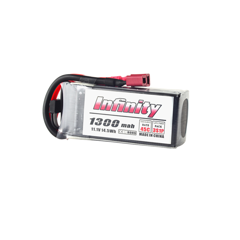New Hot For Infinity 3S 11.1V 1300mAh 45C Graphene LiPo Battery SY60 XT60 T Plug Connector for RC Quadcopter Frame Part 1s 2s 3s 4s 5s 6s 7s 8s lipo battery balance connector for rc model battery esc