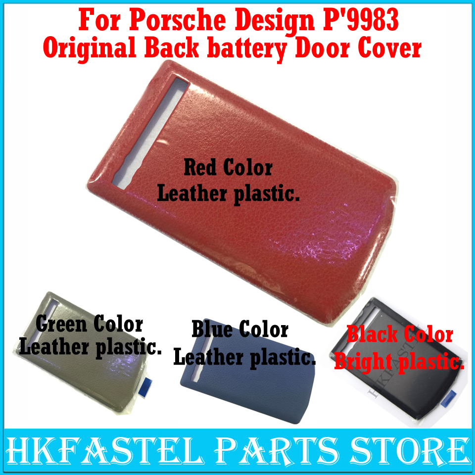 For BlackBerry Porsche Design P'9983 P9983 9983 Original Mobile Phone Back battery Door Cover Bright Or leather plastic Housing-in Mobile Phone Housings & Frames from Cellphones & Telecommunications    1