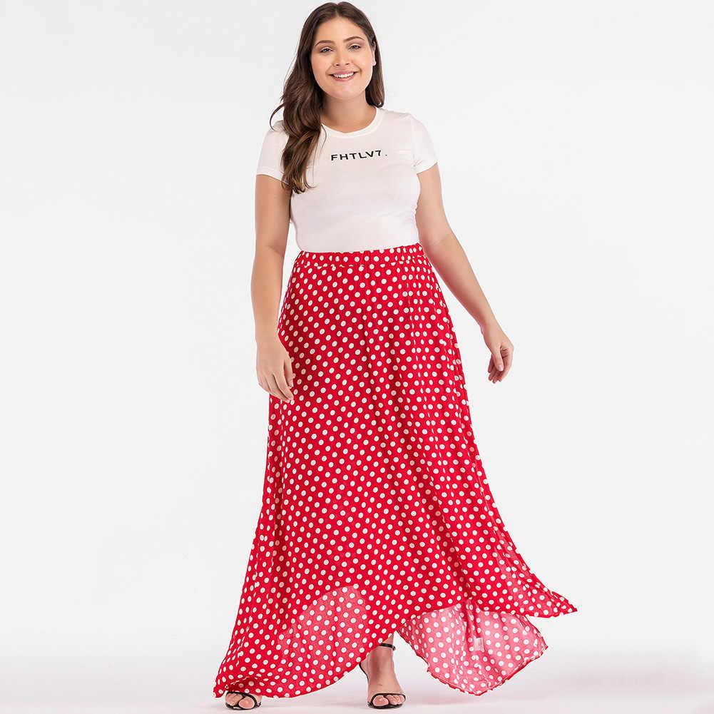 9aff5d6a9e0a Plus Size Long Maxi Skirts - ShopStyle