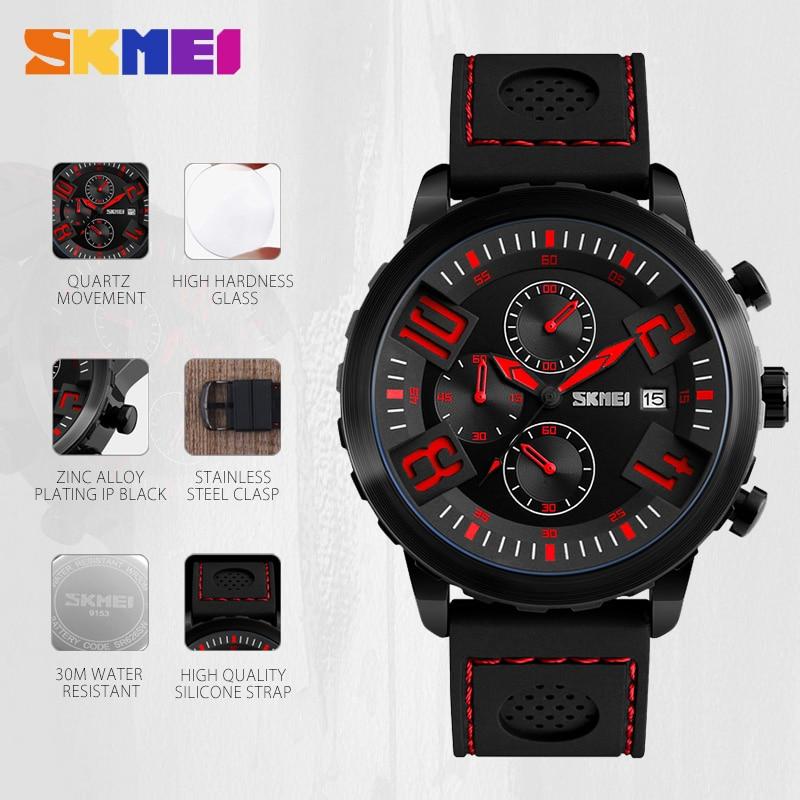 SKMEI Sports Mens Relojes de Primeras Marcas Reloj de Lujo Hombres - Relojes para hombres - foto 5
