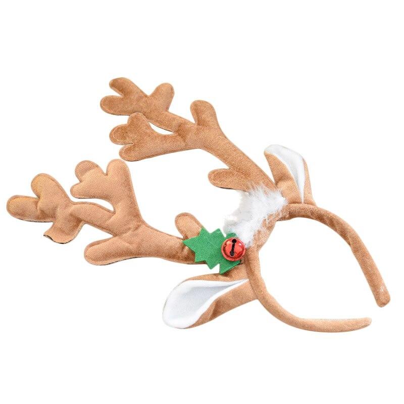Valuefull Christmas Headbands Bell Headdress Hairwear Funny Festival Decor Christmas Decoration