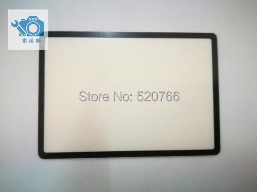 SLR digital camera repair and replacement parts 6D LCD external screen protective glass protective panel for Cano image