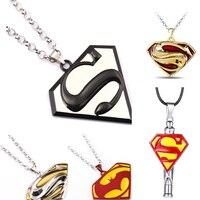 XOWSHINE 10 PCS Nova Jóia Do Corpo Série Superman Colar Da Liga colares & pingentes Cosplay ação & toy figuras SUPER HERÓIS
