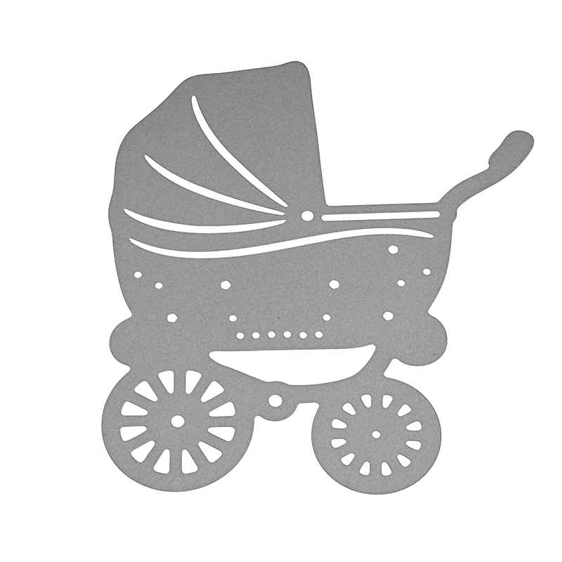 Baby Carriage Metal Cutting Dies For Mum Scrapbooking Album Decoration Kids Cards Making Stencil Paper Crafts Embossing Template