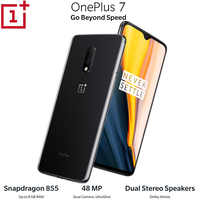 OnePlus 7 Android9.0 Mobile Phone 12GB 256GB Snapdragon855 Octa core 6.41Inch 2340x1080p 19.5:9 Fullscreen 3700mAh NFC 48MP+16MP