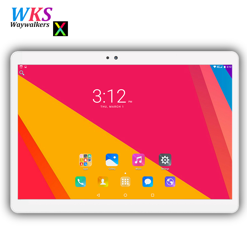 2018 Newest 10 inch tablet pc 3G phone Android 7.0 octa core RAM 4GB ROM 64GB Dual SIM card wifi Bluetooth Smart tablets 10 10.1 waywalkers 10 inch tablet pc android 7 0 octa core ram 4gb rom 32 64gb 1920 1200 ips dual sim wifi bluetooth gps tablets phone