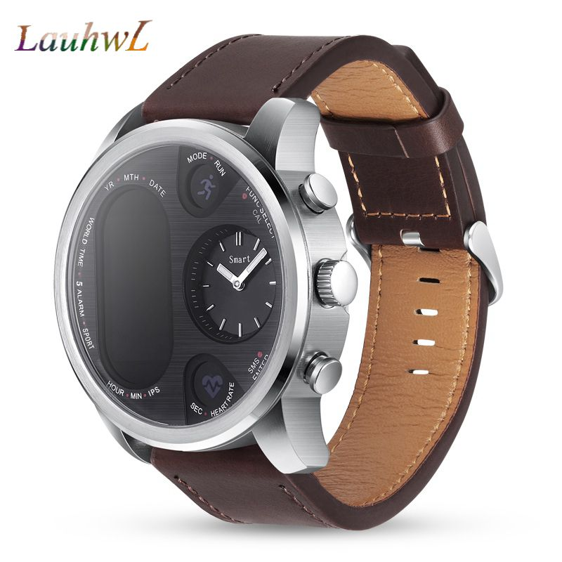 T3 Sport Hybrid Smart Watch waterproof IP68 Stainless Steel smartwatch android Fitness Activity Tracker BRIM Smart
