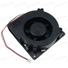 1 pcs Gdstime 24V Big Airflow Brushless DC Cooling Blower Fan 120mm 120mm x 32mm 12032s Cooler Fan