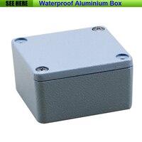 Free Shipping 1piece Lot Top Quality 100 Aluminium Material Waterproof IP67 Standard Aluminium Box Case 64