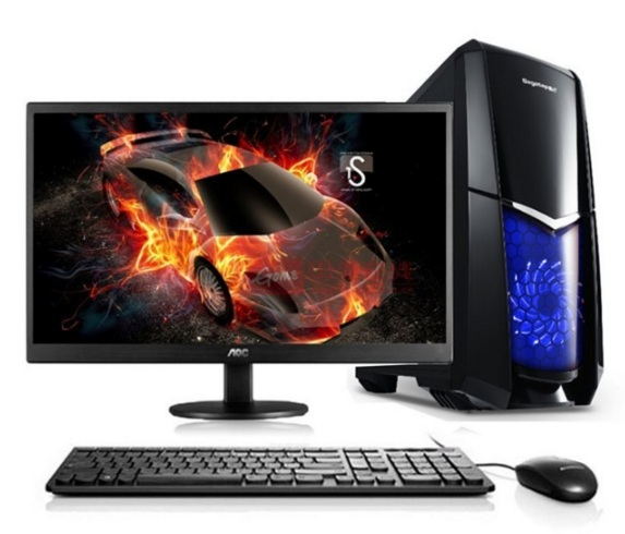 Desktop Computer CPU I5 Graphic Card 6GB ROG STRIX GTX1060 Ram 2GB SSD120GB Desktop Pc Game Computer