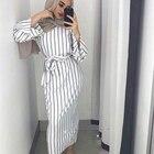 Muslim Stripe Maxi D...