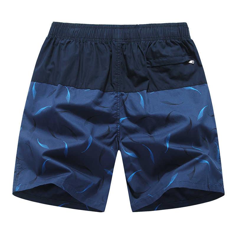MIACAWOR nowe męskie szorty markowe letnie szorty plażowe moda druku dorywczo krótkie Masculino luźne bermudy spodenki planszowe K833