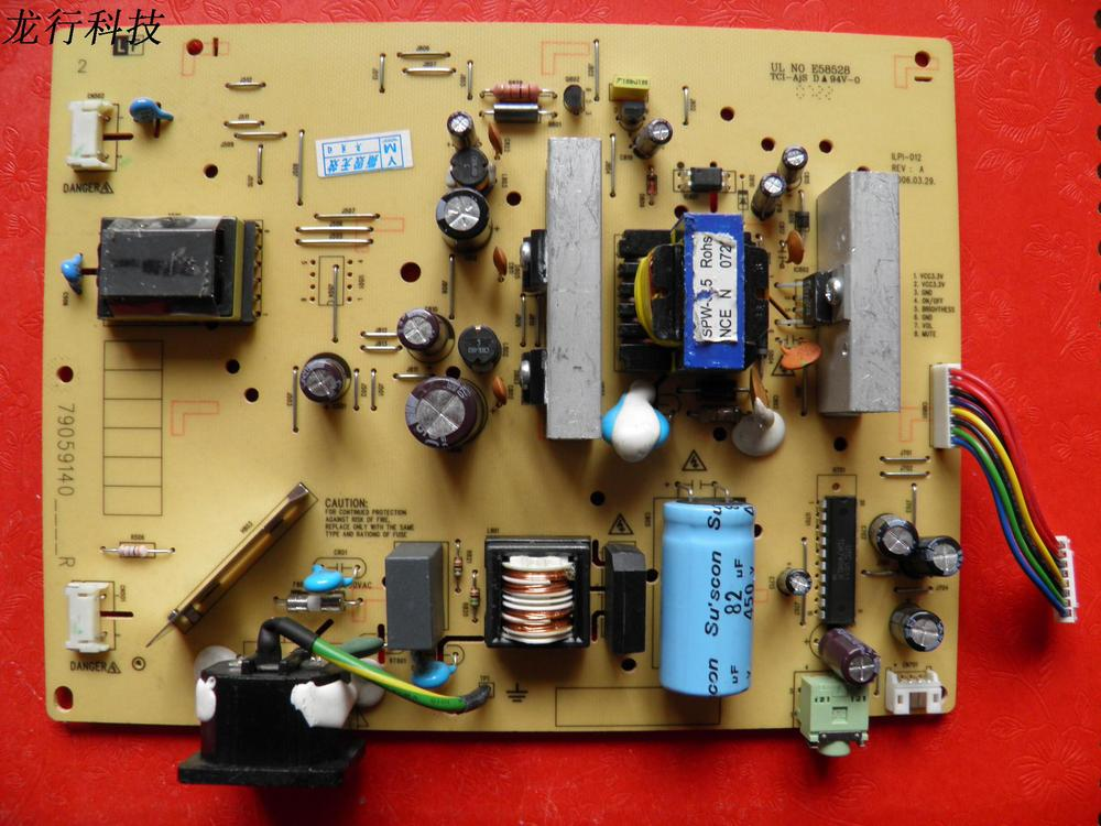Free Shipping>Original  ILPI-012 490591400100R high-voltage power supply board E58528 79059140____-Original 100% Tested Working free shipping l2045w high voltage power supply board board 0626d0263 original 100% tested working