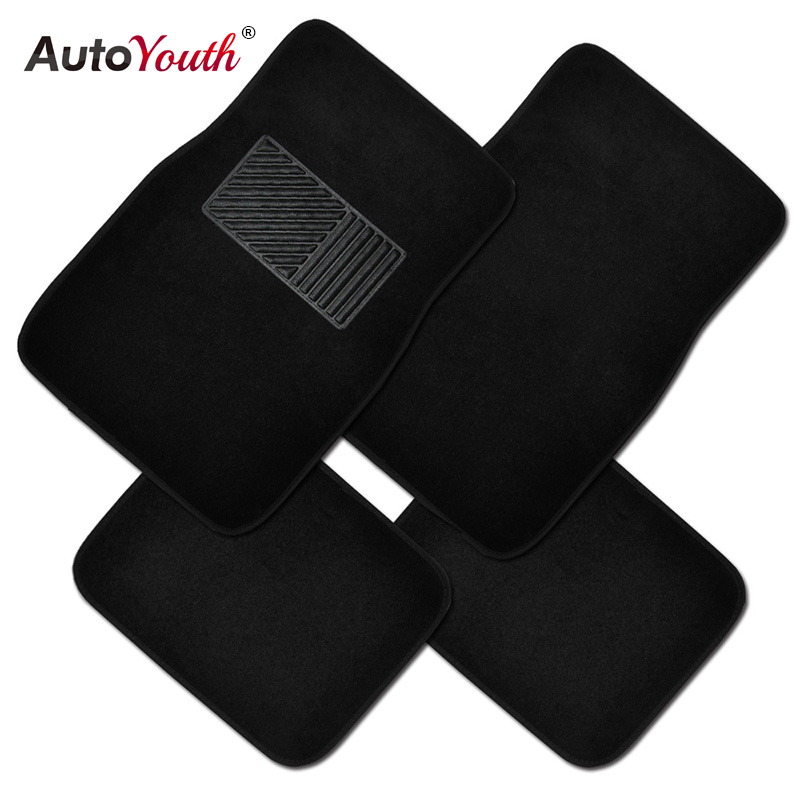 4pcs Carpet Car Floor Mats Universal Fit Mat For Cars Suv