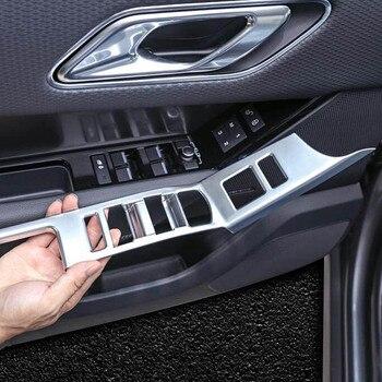 door armrest button window glass lift switch knob decorative cover trim sticker for range rover velar Interior Accessories