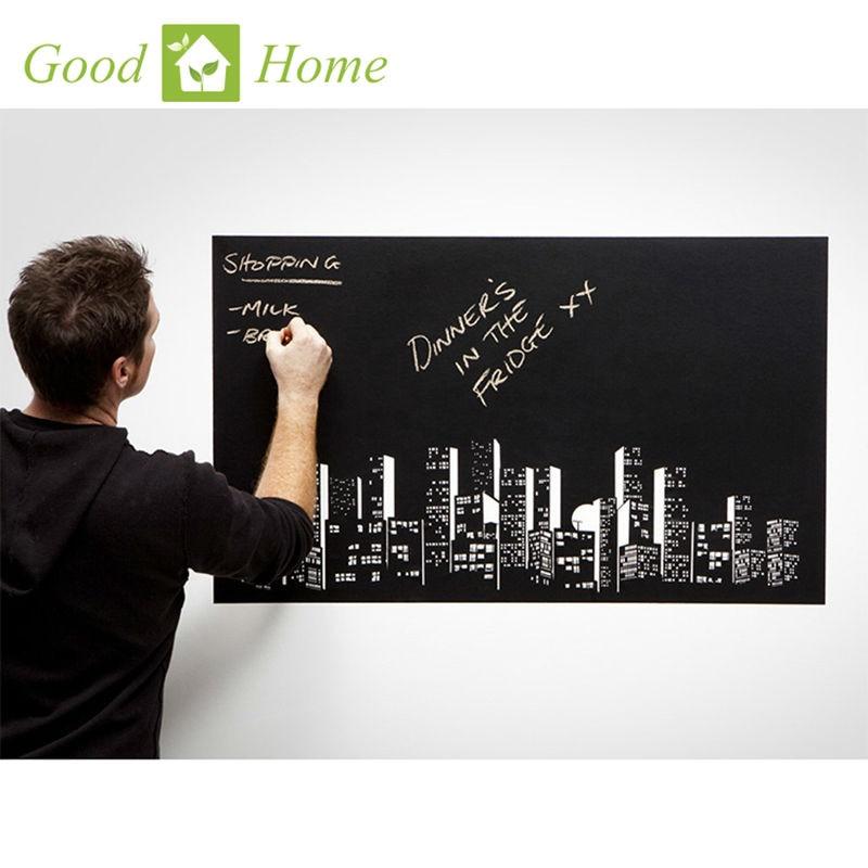 45x200cm Vinyl Chalk Board Blackboard Stickers Removable Draw Decor Mural Decals Art Chalkboard Wall Sticker for Kids DIY Rooms