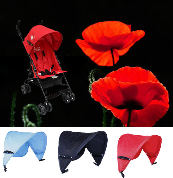 Sun shade baby stroller sunshade Canopy For prams and seat buggy pushchair Car rain cover
