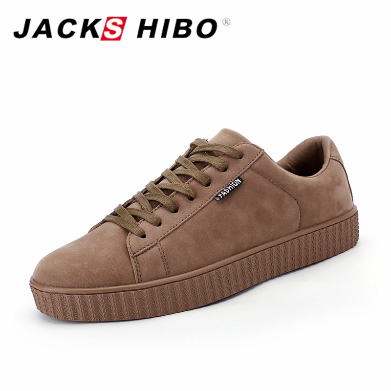 gray Jackshibo Nubuck Casual Sneakers Respirant Chaussures Brown Tendance Doux Urbain Homme Marque Nouvelle black Hommes ffTp61wq