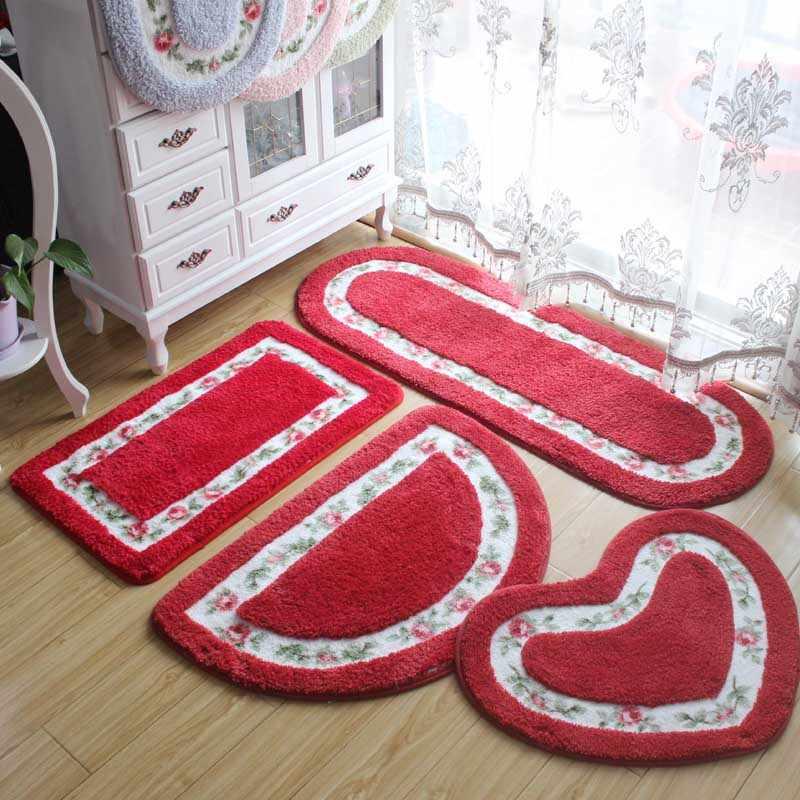 40*60 см все формы 5 цветов нескользящий, для ванной коврики, коврик для ванной ковер ковры для ванной комнаты Туалет Гостиная Спальня, коврик