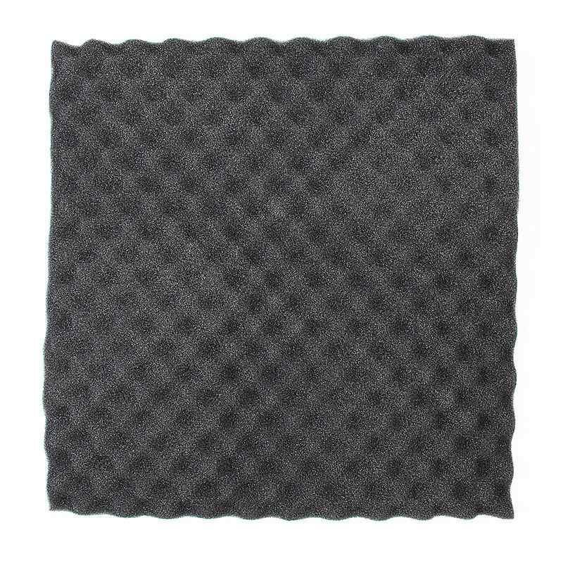 50x50cm pianka akustyczna obróbka dźwiękochłonna dźwiękochłonna bawełna Studio absorpcja płytki klinowe pianka poliuretanowa
