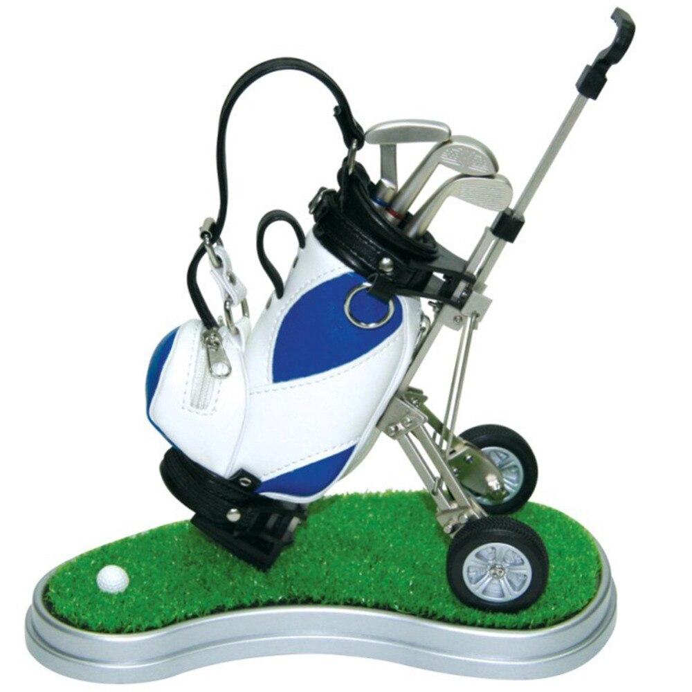 novelty golf gift golf pen holder creative pen container. Black Bedroom Furniture Sets. Home Design Ideas