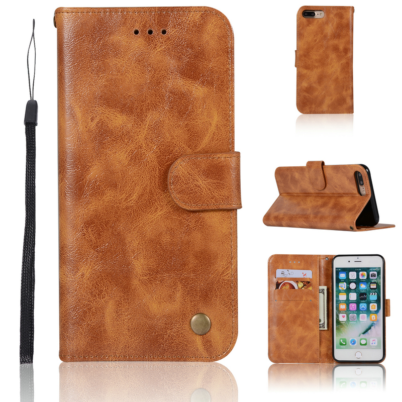 For Apple iPhone 7Plus case Luxury Armor Wallet Phone Holder for iPhone 8 Case Coque iPhone 8Plus cover Funda iPhone8 iPhone7