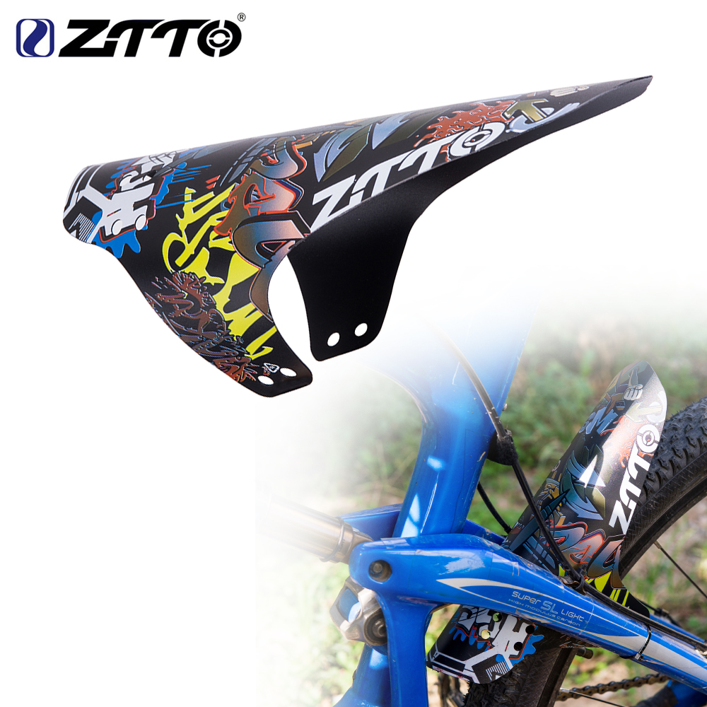 ZTTO Mountain Bike Fender MTB Bicycle Front Rear Mudguard AM Enduro DH Cycling 26 27.5 29 Easy To Assemble Lightest Bike Fender