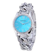 Nueva moda 2016 Mujeres de la Marca de Relojes de Diamantes Señoras Reloj de Pulsera de Cadena de Acero Inoxidable Reloj de Pulsera de Lujo relogio Mejor