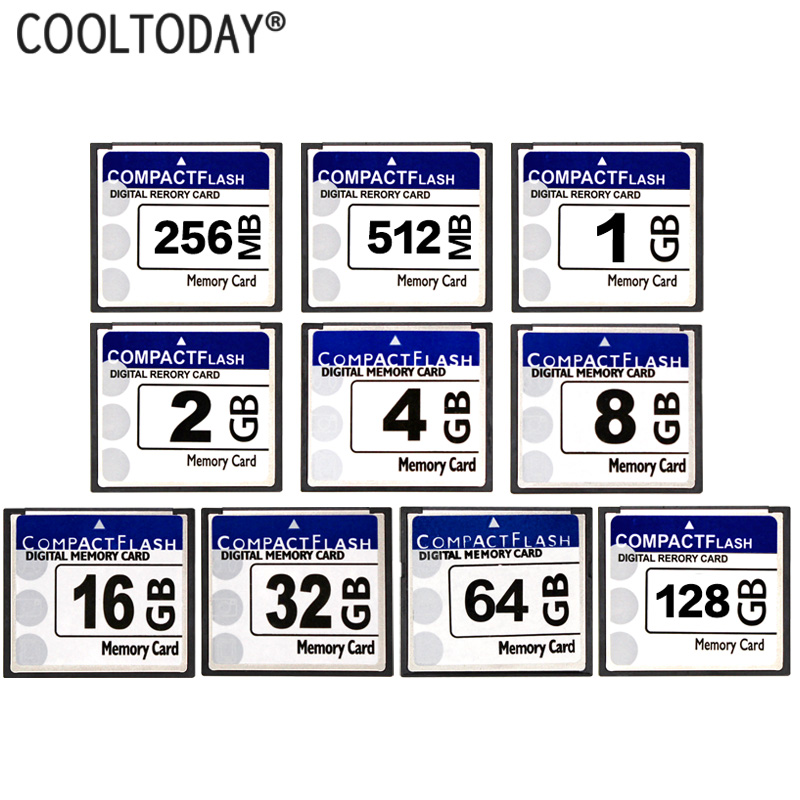 Capacité réelle carte mémoire 256 mo 512 mo 1 GB 2 GB 4 GB 8 GB 16 GB 32 GB 64 GB CF carte 128 GB carte Flash compacte livraison gratuite