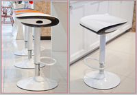 Cafe House White Color Stool Lifting Rotation Bar Chair Free Shipping Restaurant Shop Chair Stool Retail