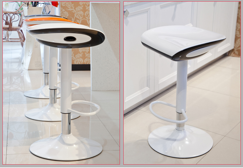 cafe house white color stool lifting rotation bar chair free shipping restaurant shop chair stool retail wholesale bar chair antique color ktv stool free shipping brown blue dark green color public house stool