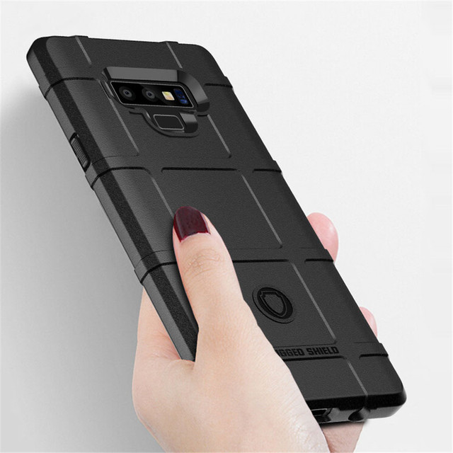 sale retailer c9bcb 062a8 US $3.19 20% OFF|For Samsung Galaxy Note 9 Case Armor Soft TPU Silicone  Durable Shield Back Cover For Samsung Note9 Shockproof Protection Cases-in  ...