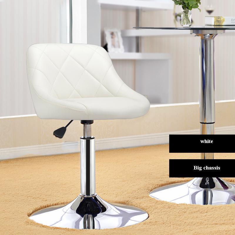 bar chair coffee house rotation stool red black white color household chair white red black bar chair coffee house stool free shipping