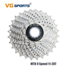 VG Sports MTB 9 Speed 9 V 11-28T Mountain Bike Freewheel  Fixed cog for Shimano Sram Cassette Sprocket 9 Velocidade Kaseta wheel цена и фото