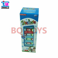 stackers Children's Puzzle Board Game Cartoon Eyes Stacking Stacks Draw Music Layers Stacking Game Toys DRUNK drinking game card